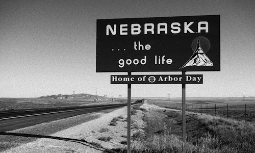 Welcome Sign in Nebraska
